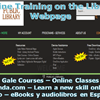 New Online Training Opportunities
