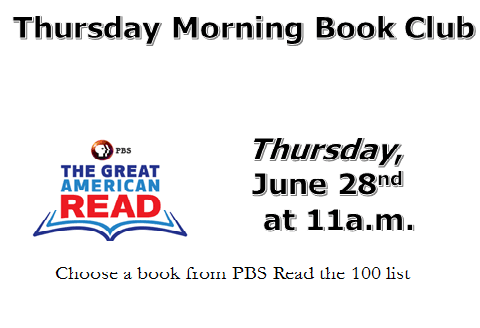 June Thursday Morning Book Club 2
