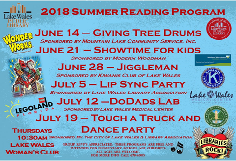 2018 Summer Reading Program Rock