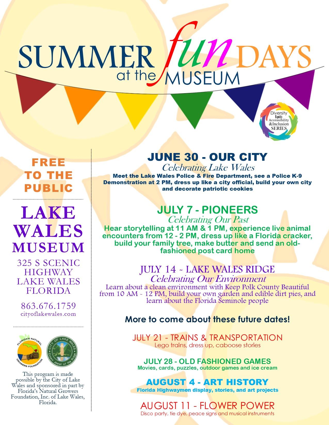 Summer Fun Flyer - With Days - Update.pub