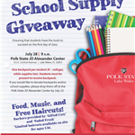 Start Right school supply giveaway 180713