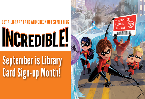 Library card sign up month 2018
