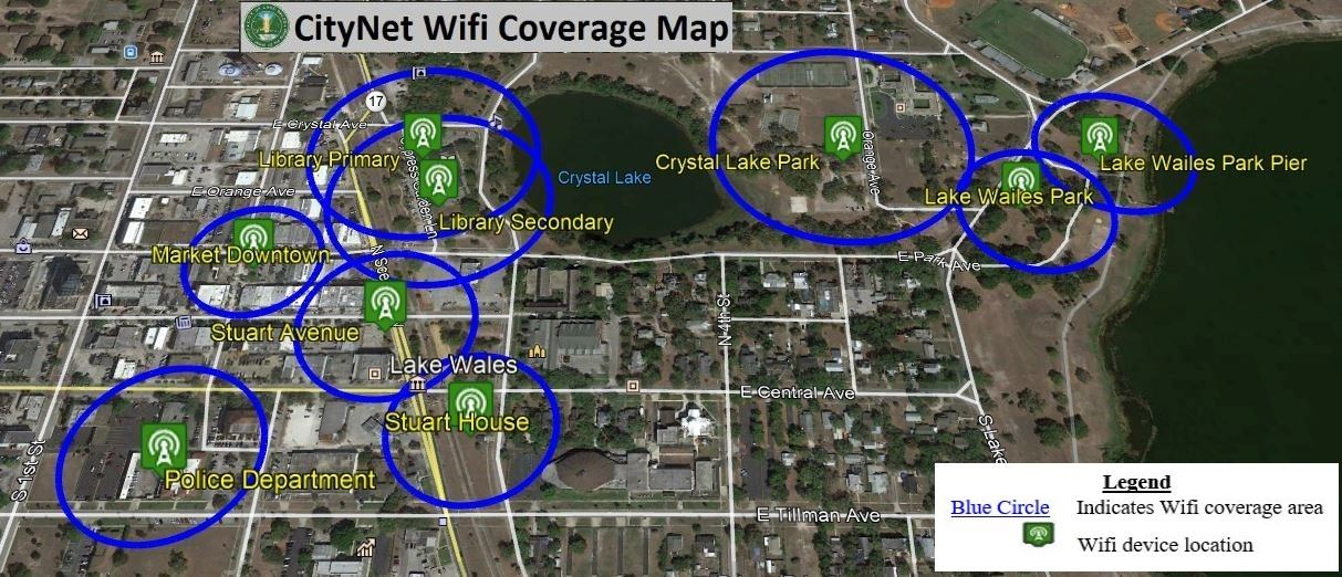 CityNet Wifi Coverage