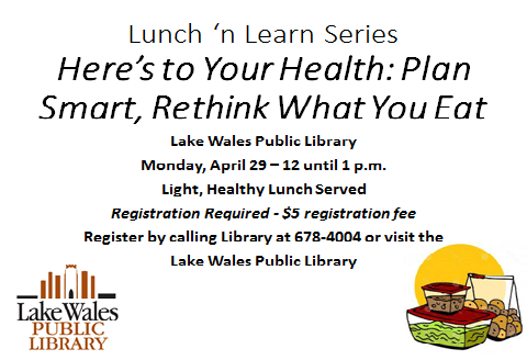 April Plan Smart Lunch n Learn
