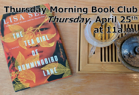April Thursday Morning Book Club