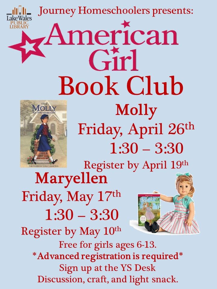 America Girl Club April May