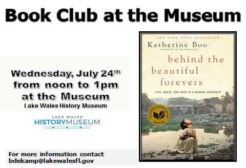 July Museum Bookclub revised