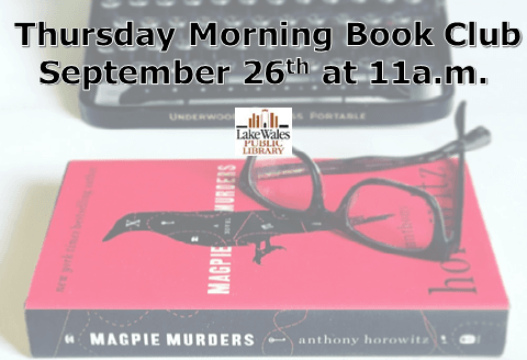 September Thursday Morning Book Club