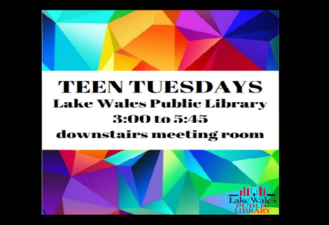 September Teen Tuesdays