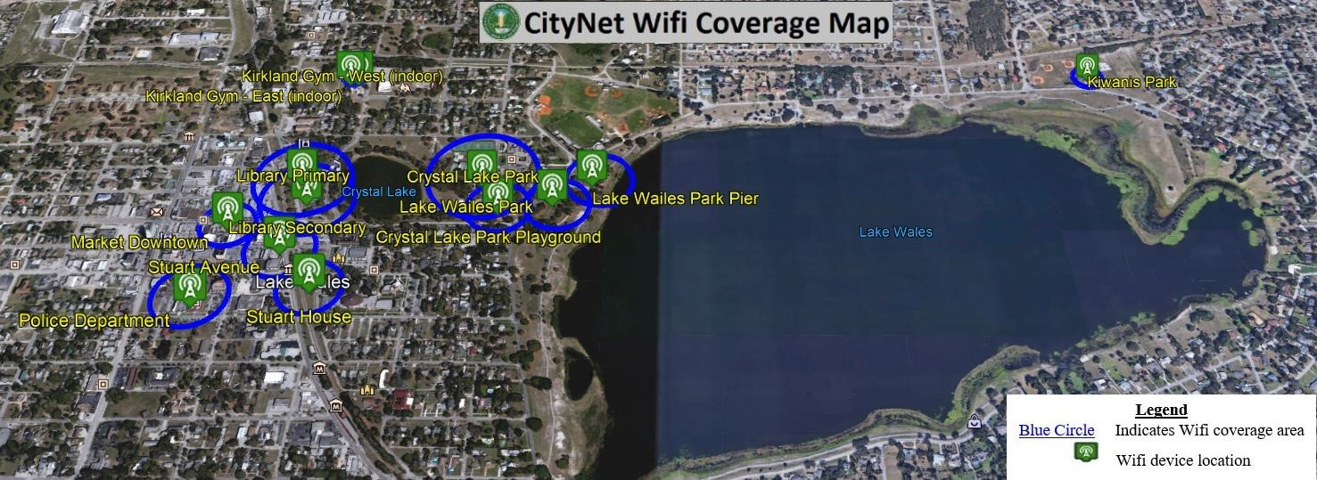 FY19-20 CityNet Wifi Coverage Map