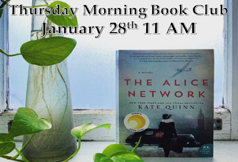 January 2021 Thursday morning Book Discussion