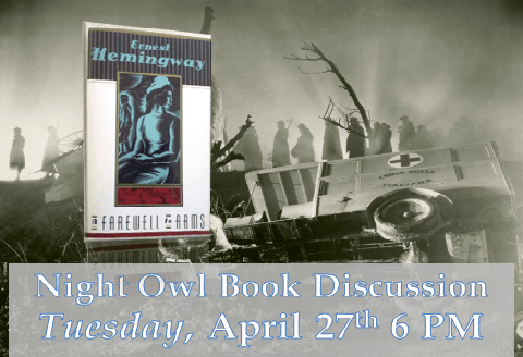 Night Owls April Book Discussion
