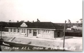 Atlantic Coast Line Depot, 1928